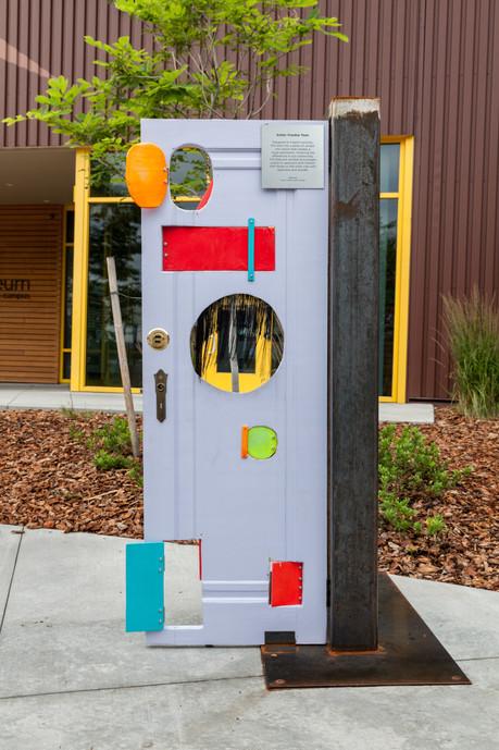 Interactive Door- comissioned by the Children's Museum of Denver