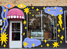 Make, Believe Bakery project
