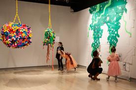 Queer Garden at Weeks Gallery, Jamestown, NY