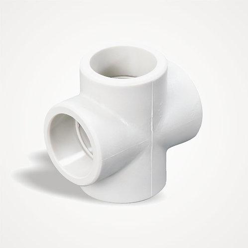 HAKAN PLASTİK Istavroz Beyaz PPRC (25 mm)