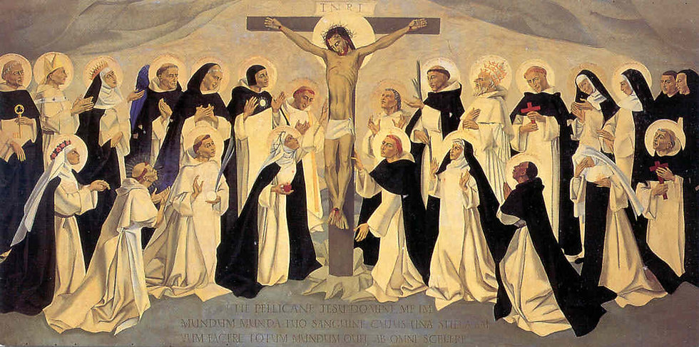 Dominicans at the Cross House of Studies
