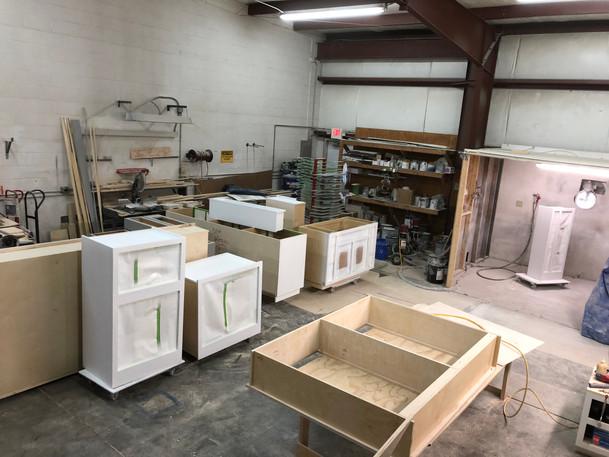 Spraying - Cabinet Process