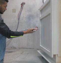 Spraying- Cabinet Process