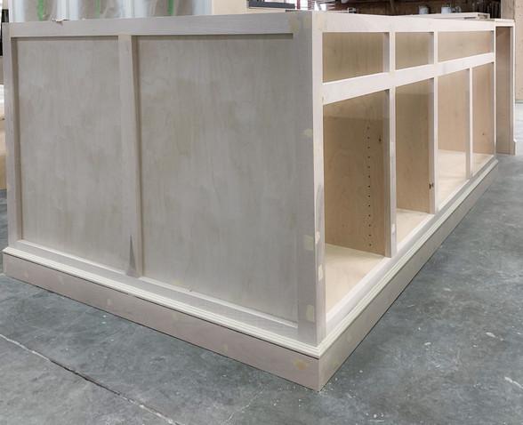 Sanding - Cabinet Process