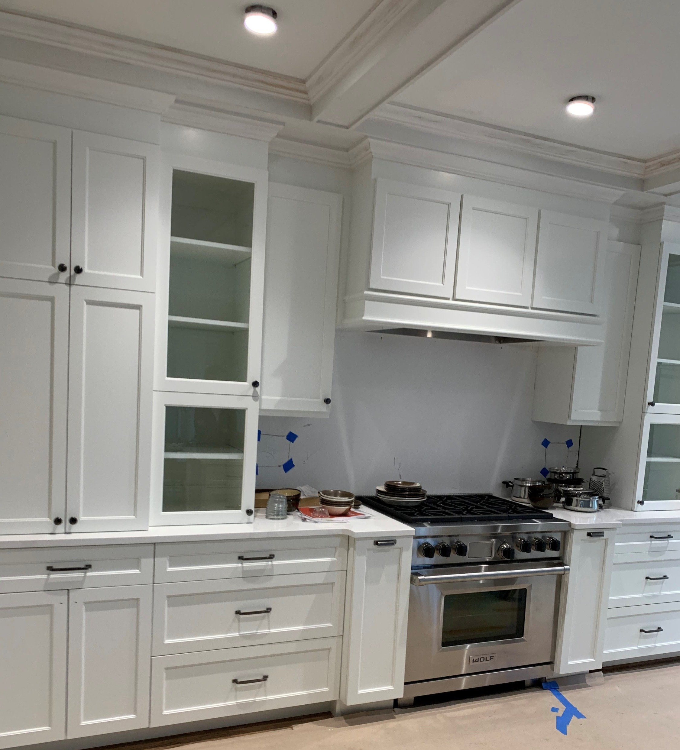 Waxhaw - Drop Zone Styled Kitchen