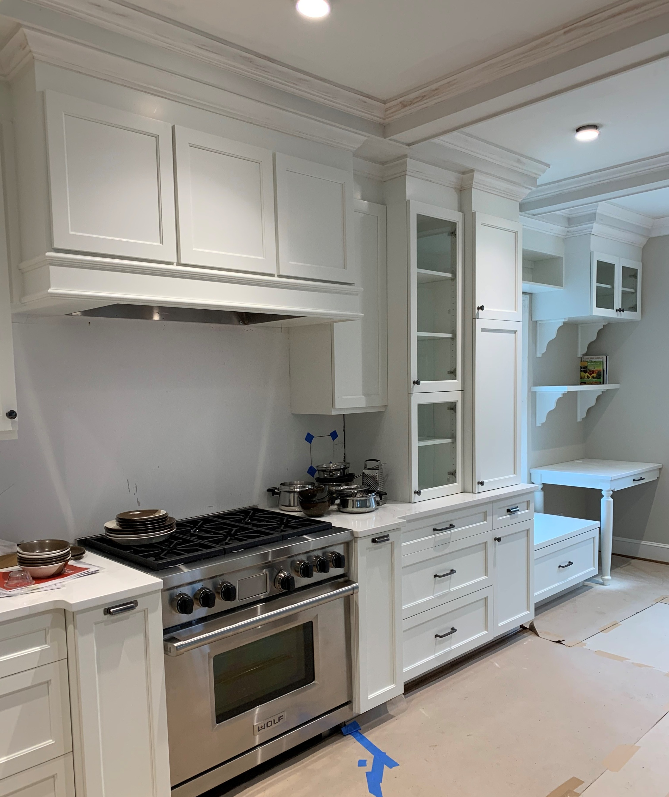 Waxhaw - Custom Hood & Kitchen