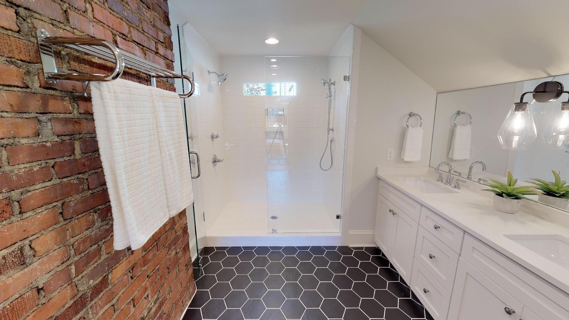 Plaza Midwood - Custom Bath Cabinet