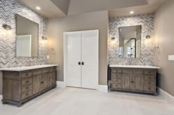 Plaza Midwood 2 - Custom Bath Cabinets