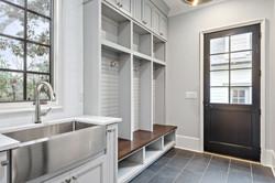 Plaza Midwood 2- Custom Mudroom Cabinets