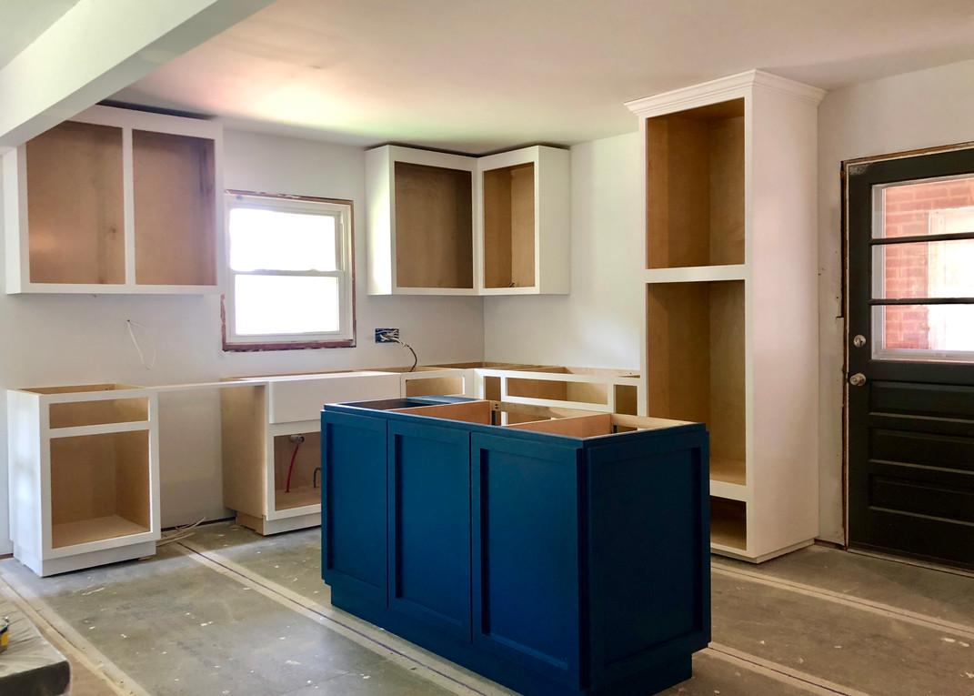 Installation - Cabinet Process