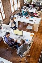 Bureau entreprise et ergonome