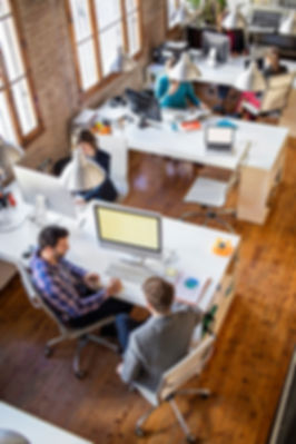 small business open office