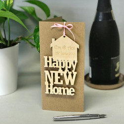 Personalised Card For New Homes