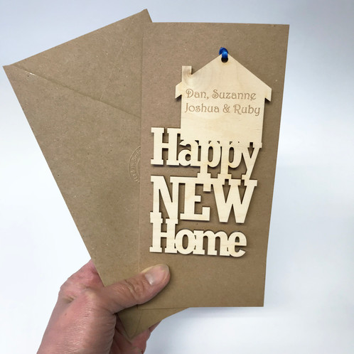 personalised house warming card