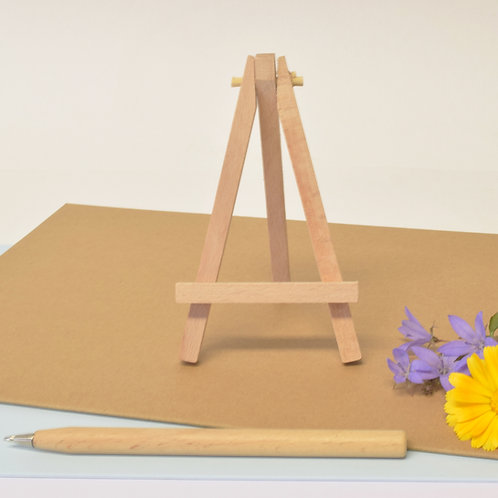 Wooden Display Easel - Standard Card Size
