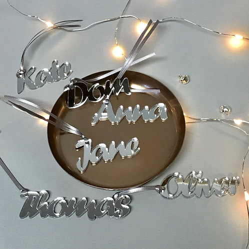 Luxury Mirrored Gift Tags