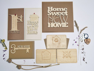 Personalised New Home Keepsake Cards
