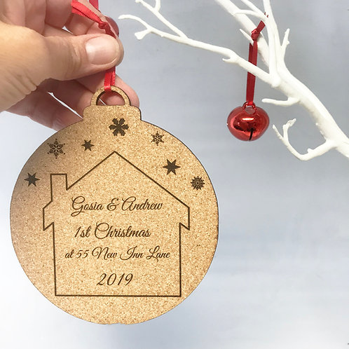 1st Christmas In Your New Home Decoration