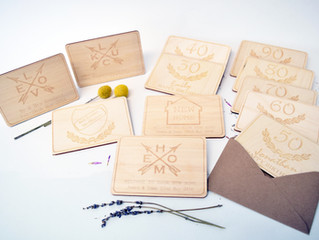 Give a loved one something different, with our stunning wooden postcard keepsake collection