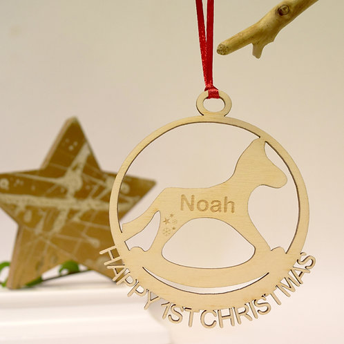 1st Rockinghorse Children's Charity Christmas Decoration