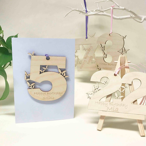 Personalised Birthday cards For Girls