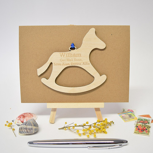 Rockinghorse Children S Charity Personalised Get Well Soon