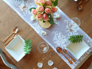 Rustic and Elegant Table Décor