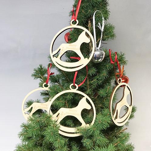 Rockinghorse Children's Charity Christmas Decorations