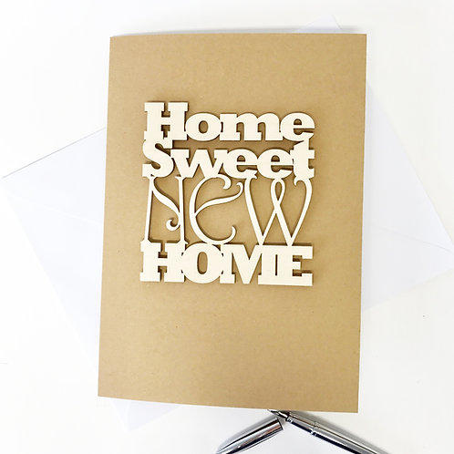 Home Sweet New Home Card