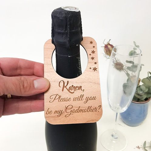 Personalised Wine Bottle labels For Retirement