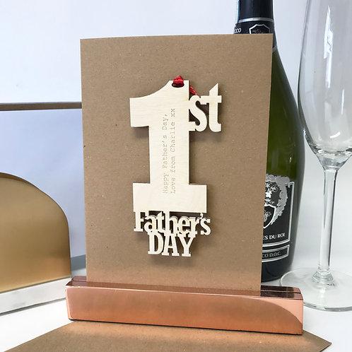 1st Father's Day Keepsake
