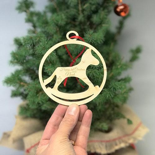 Rockinghorse Children's Charity Christmas Decoaration