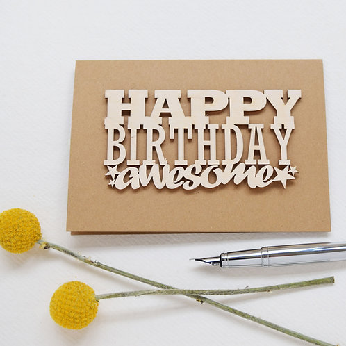 Awesome Birthday Cards