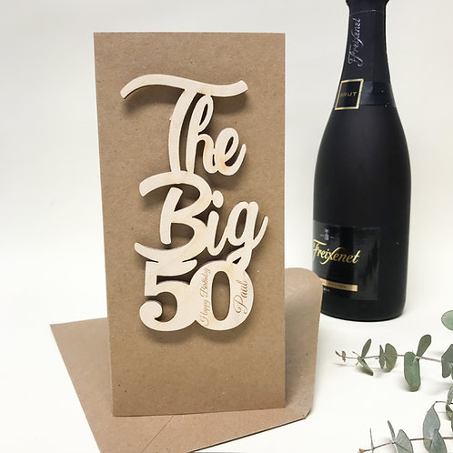 Milestone birthday 50