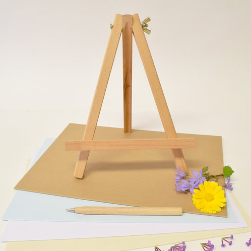 Wooden Display Easel - A4 Card Size