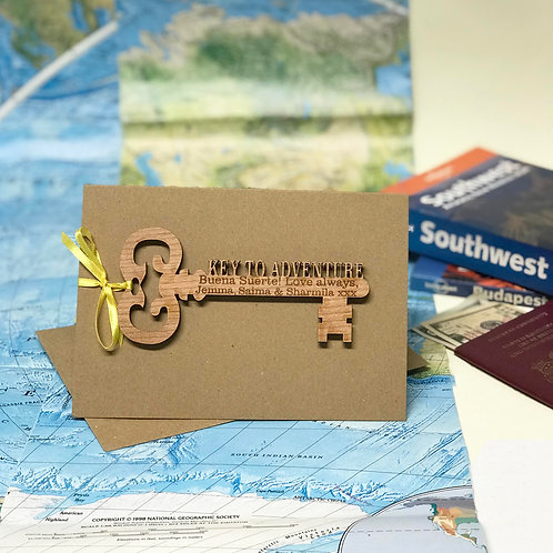 Key To Adventure Gap Year Gift Card