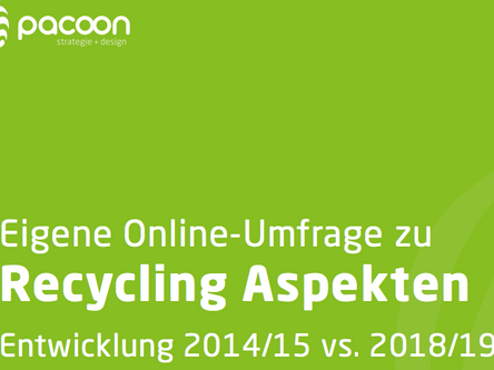 Recycling-Aspekte 2019 vs. 2014