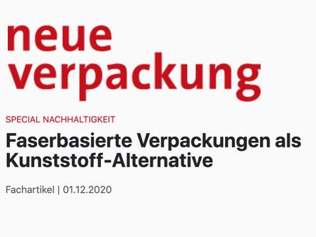 NEUE VERPACKUNG - Faserbasierte Verpackungen