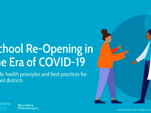 Johns Hopkins modules teach best practices for reducing COVID-19 risks during in-person learning