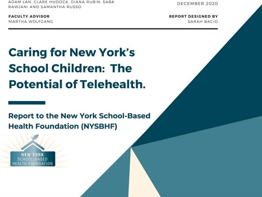 Foundation Press Release - Caring for New York's School Children: The Potential of Telehealth