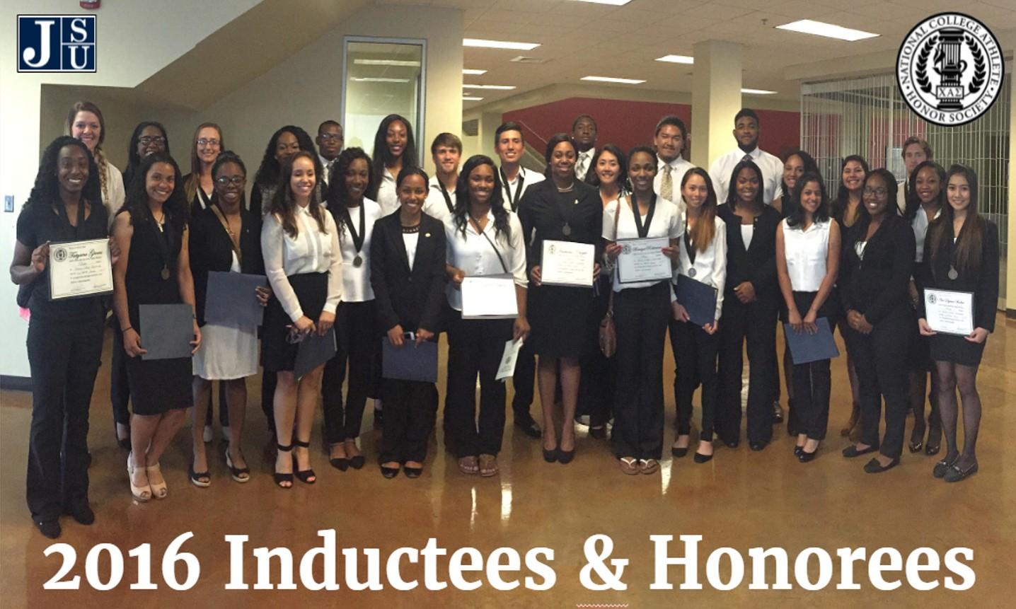 Chi Alpha Sigma 2016 Inductees