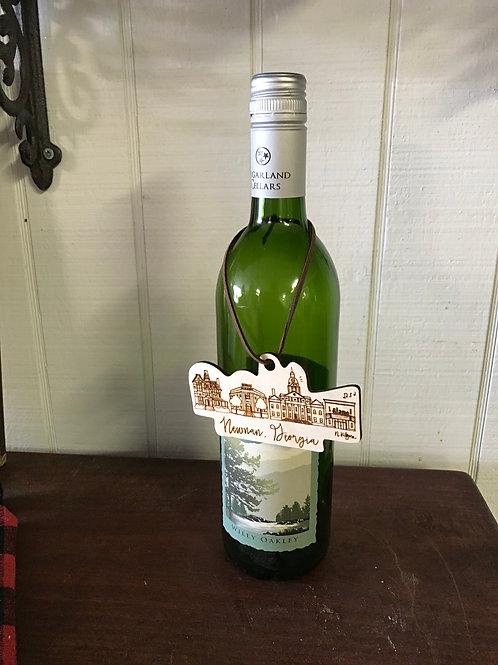 Newnan Wine Tag/ Ornament