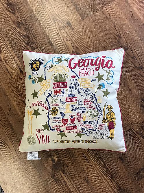 Georgia Pride Pillow