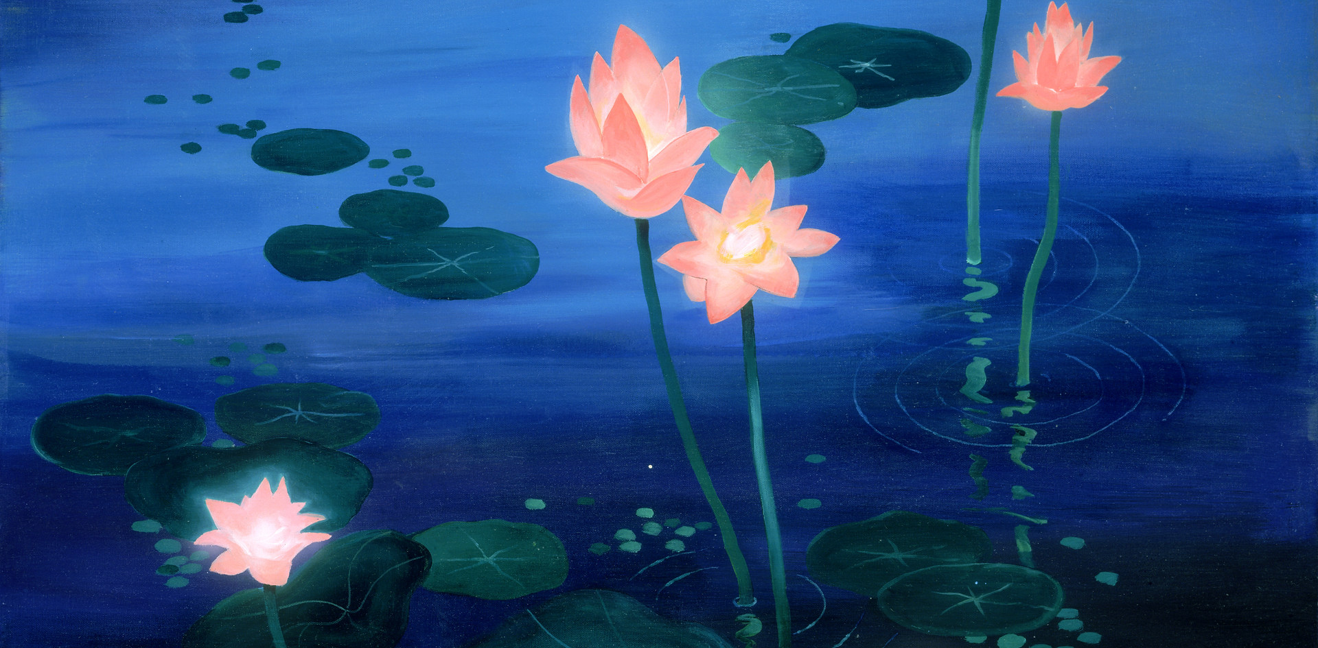 Lotus Twilight(Acrylic) .jpg