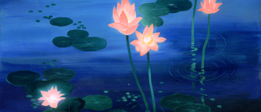Lotus Twilight(Acrylic) .jpg