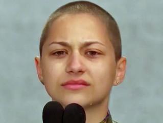 La lágrima de Emma Gonzalez