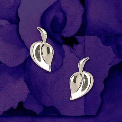 Heart Leaf Earrings