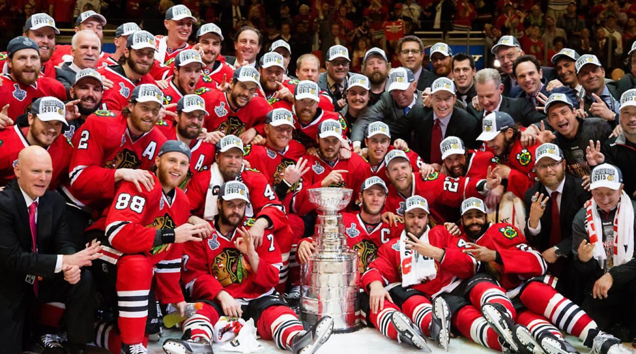 Stanley Cup 2015 Chicago BlackHawks
