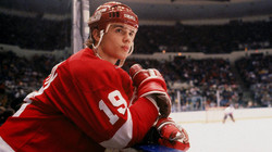 A ses débuts aux Red Wings