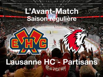 L'avant-match HC Bienne - Lausanne HC